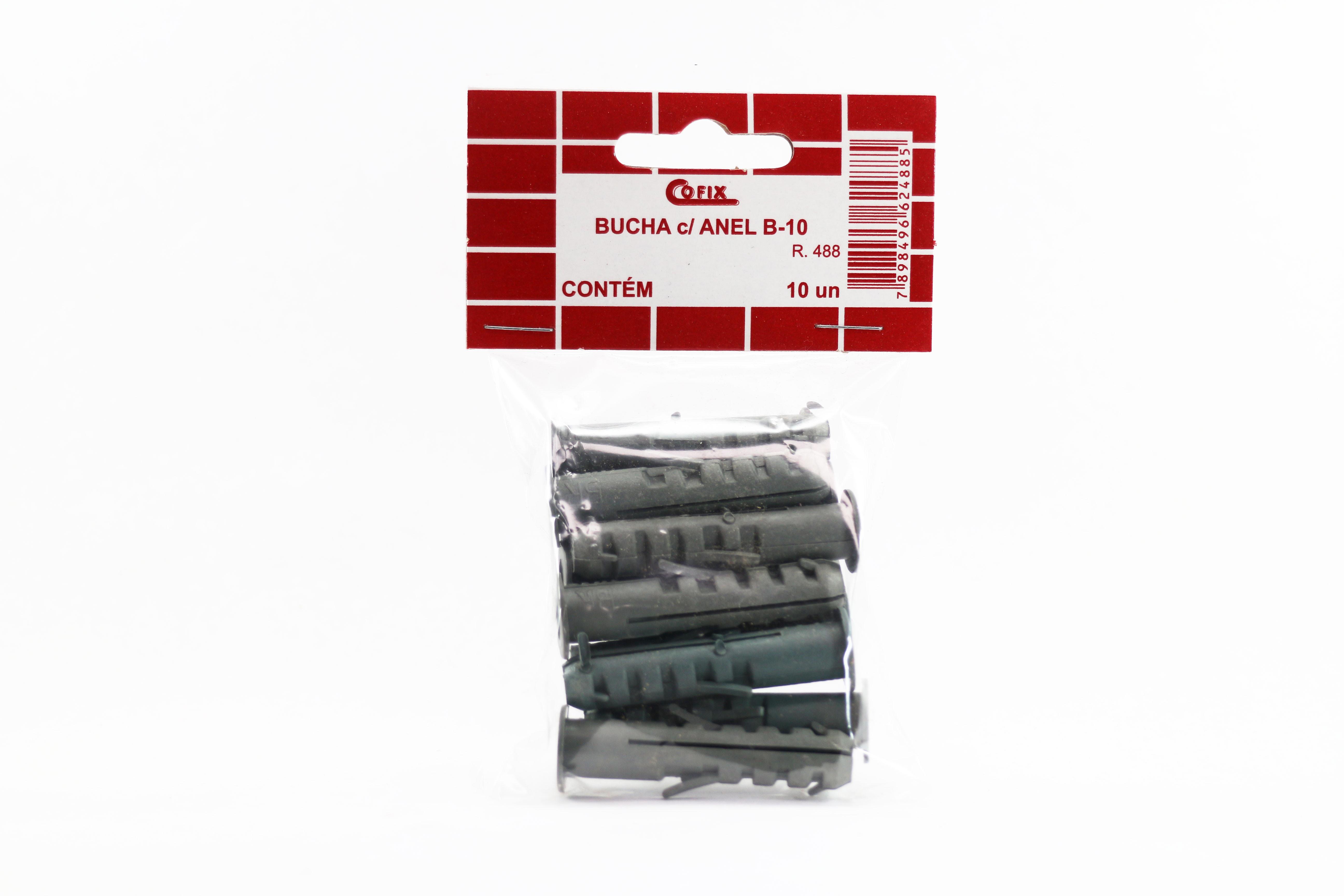 Cartela de Bucha com Anel B10 10un Cofix