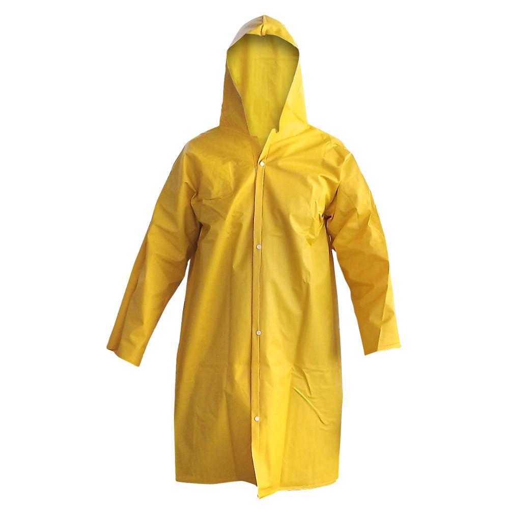 Capa de Chuva Proteção Forrada Amarela Plastcor