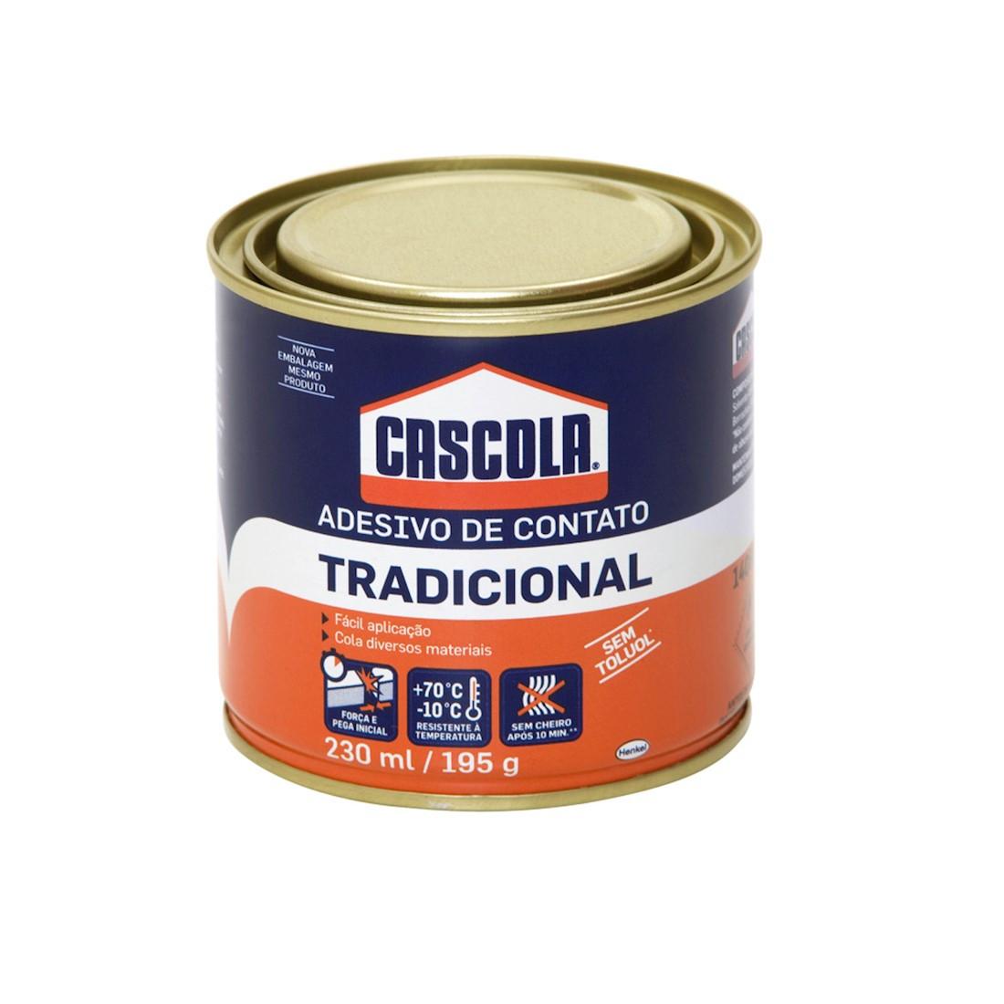 Adesivo de Contato Cascola 195g Henkel