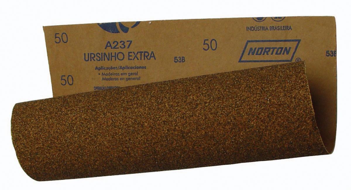 Lixa Madeira 225x275mm Grão 150 Norton