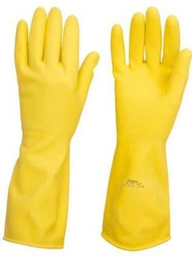 Luva Multiuso Amarela Látex M Sanro