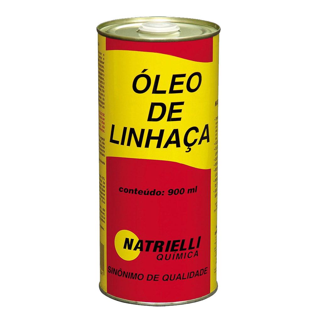 Oleo de Linhaça 900ml Natrielli
