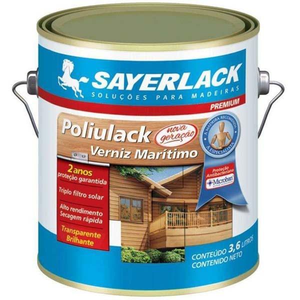 Verniz Poliulack Brilhante 3,6L Sayerlack