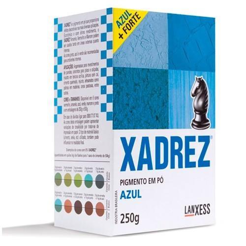 Pigmento em Pó Xadrez 250g Azul