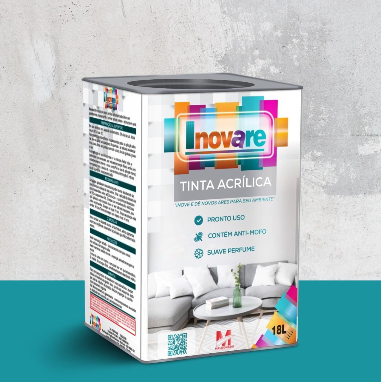 Tinta Látex Acrílico Branco 18L Inovare