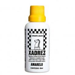 Corante Líquido Xadrez 50ml Amarelo