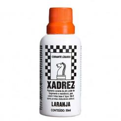 Corante Líquido Xadrez 50ml Laranja