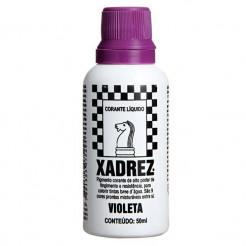 Corante Líquido Xadrez 50ml Violeta