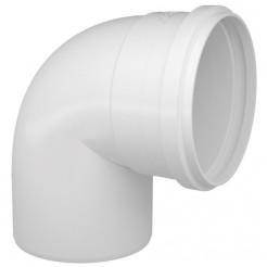 Joelho Esgoto 150mm 90° Branco Multilit