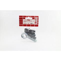 Cartela de Gancho com Bucha B10 4un Cofix