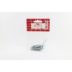 "Cartela de Parafuso Caixa Luz 9/64 x 1.1/2"" 14un Cofix"
