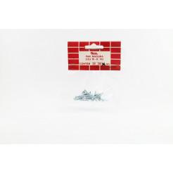 Cartela de Parafuso Madeira 2,5x16 30un Cofix
