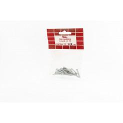 Cartela de Parafuso Madeira 3,5x22 20un Cofix