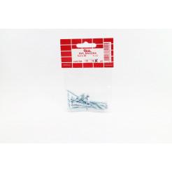 Cartela de Parafuso Madeira 4,2x30 16un Cofix