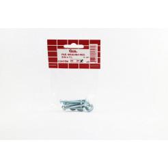 "Cartela de Parafuso Máquina 5/32 x 1.1/2"" 7un Cofix"