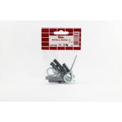 Cartela de Pitão com Bucha B8 5un Cofix