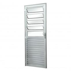 Porta de Alumínio Basculante 2,10x0,80m Direita Esquadriart