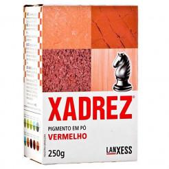 Pigmento em Pó Xadrez 250g Vermelho