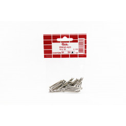 Cartela de Prego de Aço com Cabeça 15x15 30un Cofix