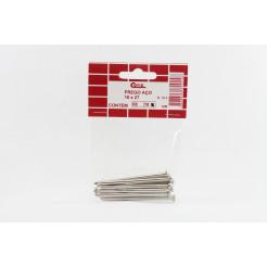Cartela de Prego de Aço com Cabeça 18x27 10un Cofix