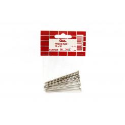 Cartela de Prego de Aço com Cabeça 18x30 10un Cofix