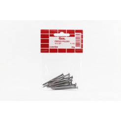 Cartela de Prego Polido com Cabeça 17x21 50g Cofix