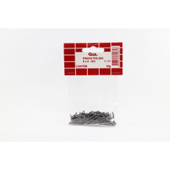 Cartela de Prego Polido sem Cabeça 08x08 30g Cofix