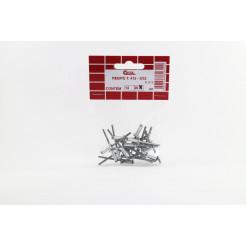 Cartela de Rebite 412 20un Cofix