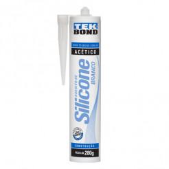 Silicone Vedação Branco 280g Tekbond