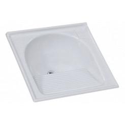 Tanque Mármore Sintético Simples 60x60 Branco AJ Rorato