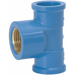 Tee Soldável LR Azul 25mm X 25mm Multilit