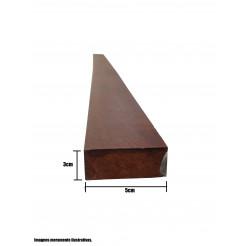 Ripão para Telhado 5x1,8cm Aparelhado Cambará